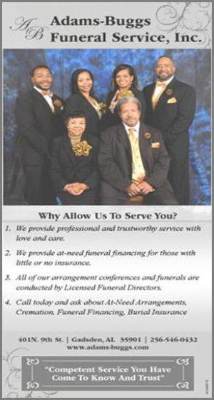 Adams Buggs Funeral Services