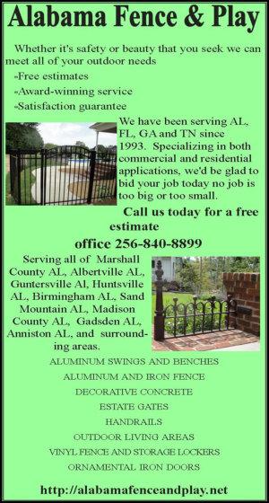 Alabama Fence & Play