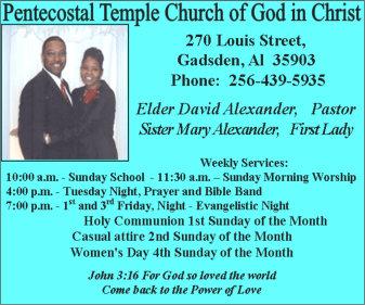 Pentecostal Temple Church of God in Christ